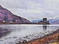 A sad view of Eilean Donan